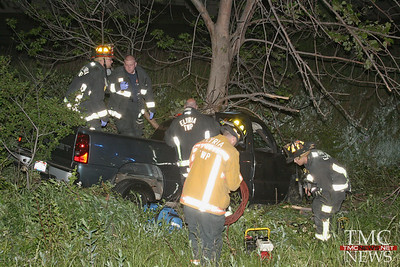 DRIVER CRITICAL AFTER LATE NIGHT CRASH