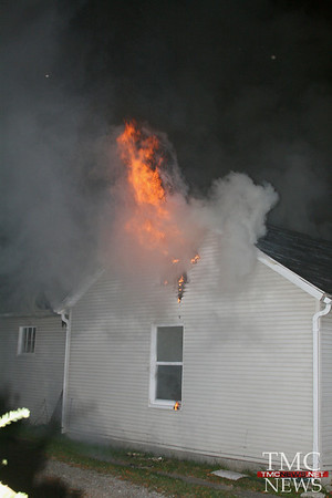 EARLY MORNING FIRE RIPS THROUGH ELYRIA HOME