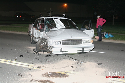 NORTH ABBE ROAD CRASH SENDS 4 TO THE HOSPITAL
