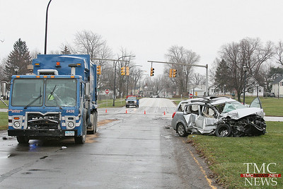 ONE CRITICAL AFTER CRASH AT LAKE AND LORAIN BLVD
