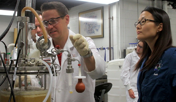 Bioprocess Scale-Up Facility training