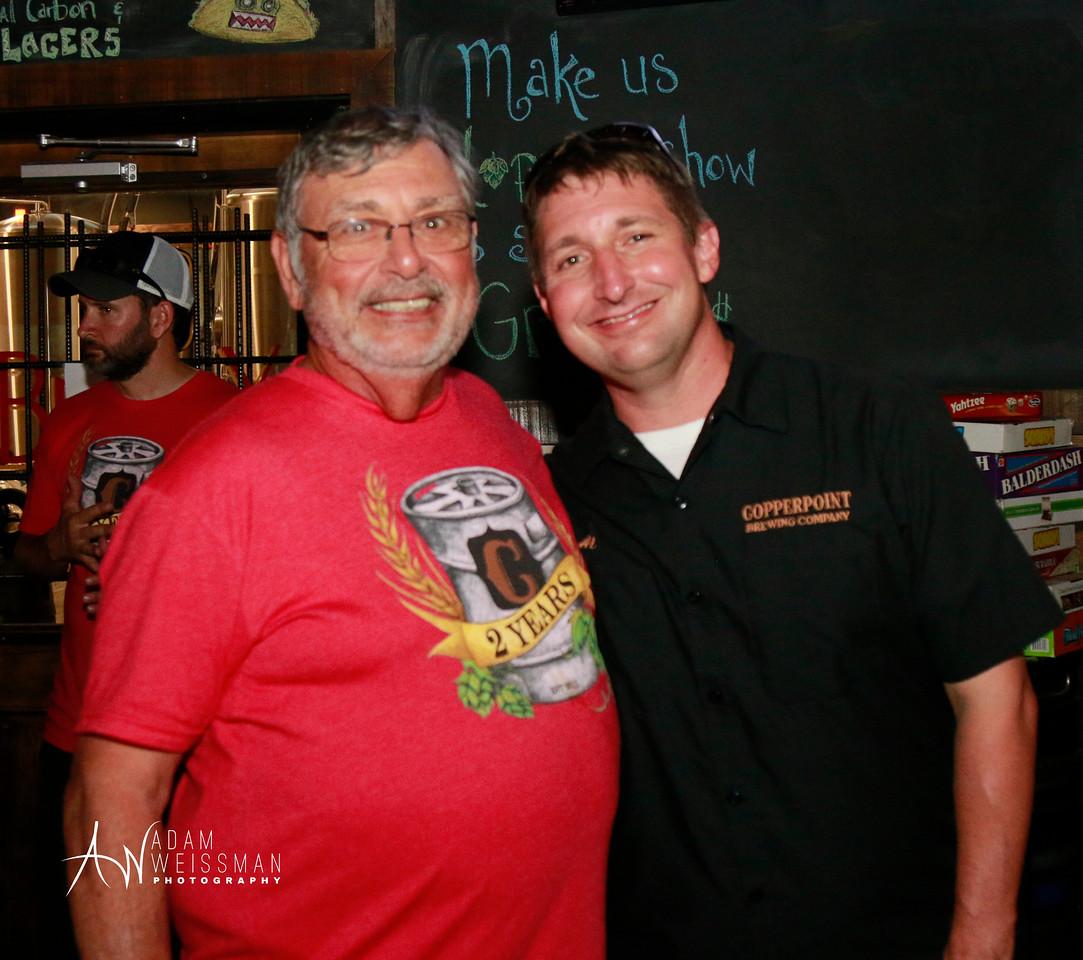 Al and his dad, Big Al