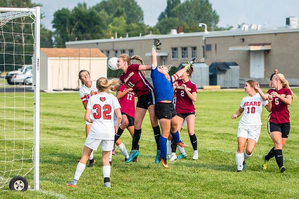 BRHS Girls Soccer VS Logan 692