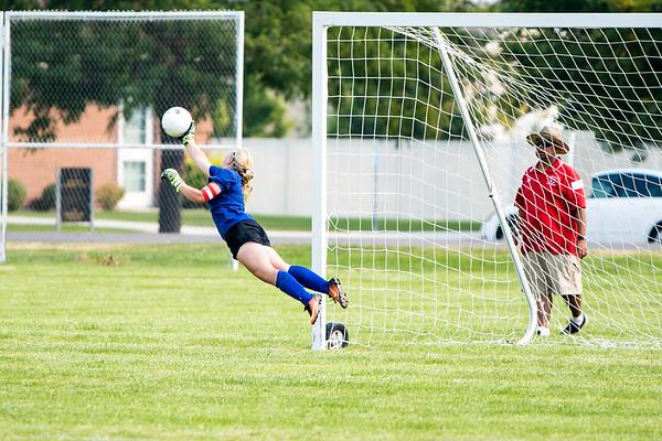 BRHS Girls Soccer VS Logan 121