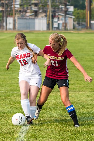 BRHS Girls Soccer VS Logan 378