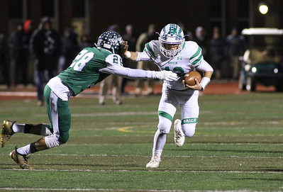 no.12, Anthony Prato. Brick Township High School v/s Long Branch during the NJSIAA Group 4 Final in Long Branch, NJ on 11/16/18. [DANIELLA HEMINGHAUS | THE OCEAN STAR]