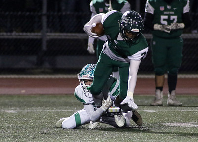 no.26, Mike McGuigan  Brick Township High School v/s Long Branch during the NJSIAA Group 4 Final in Long Branch, NJ on 11/16/18. [DANIELLA HEMINGHAUS | THE OCEAN STAR]