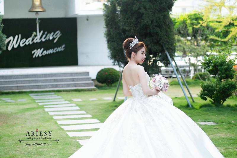 華麗新娘造型,新娘秘書,新秘,ARIESY,愛瑞思,中部新秘