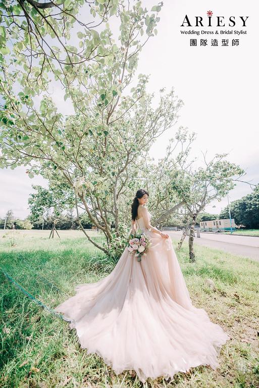 自然清新,婚紗棚內,八里公園,水牛坑