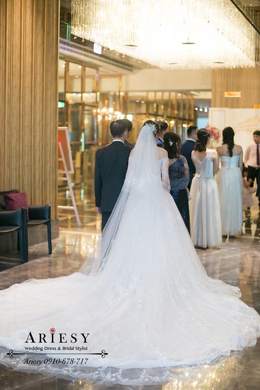 新娘秘書,第九大道婚紗,台北新秘,韓系新娘風格,韓風新娘造型,白紗盤髮新娘髮型