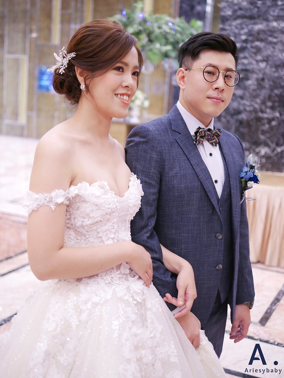 台北新秘,清透妝感,歐美新娘造型,白紗進場造型