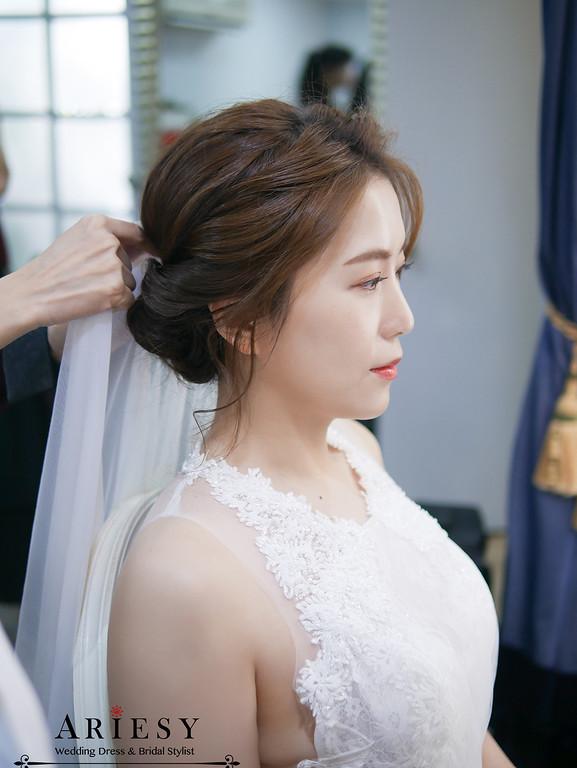 戶外婚禮,戶外證婚,美式婚禮,韓風新娘造型,白紗新娘造型,鮮花新秘
