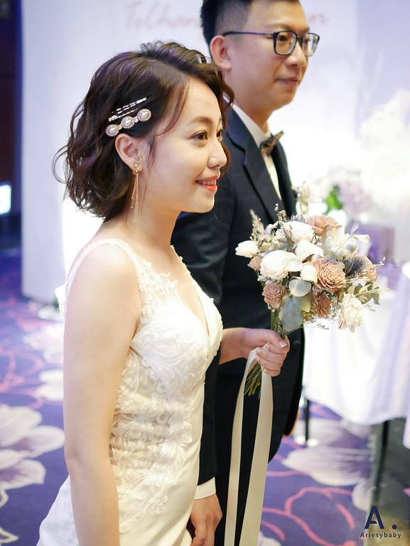 自然清透,蓬鬆編髮,時尚新娘,新秘,新竹新娘秘書