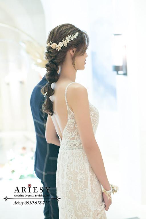 鮮花新秘,萬豪酒店婚宴,新秘推薦,ARIESY,敬酒造型,蒂米琪婚紗
