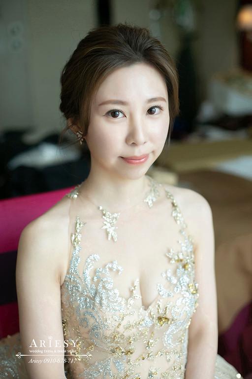 文定新娘造型,愛瑞思,ARIESY,台北新秘,維多麗亞酒店,新娘秘書