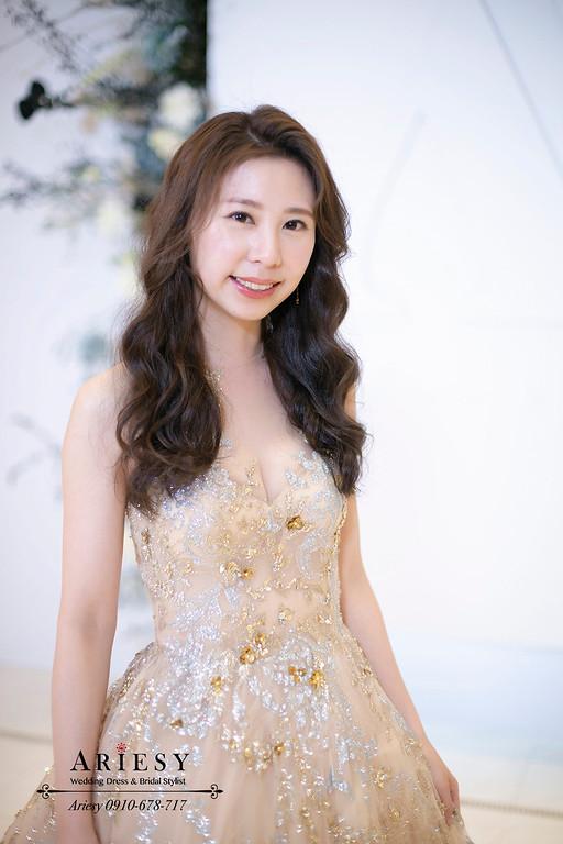 送客新娘造型,愛瑞思,ARIESY,台北新秘,維多麗亞酒店,新娘秘書