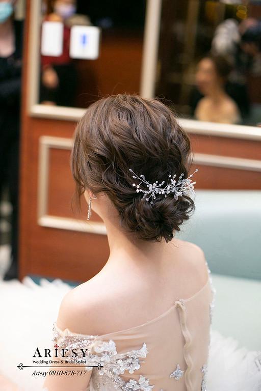 韓風新娘造型,愛瑞思,ARIESY,台北新秘,維多麗亞酒店,新娘秘書