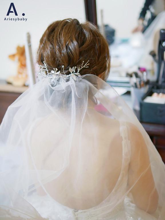 台北新秘,韓系妝感,皇冠造型,編髮造型,結婚迎娶,新莊典華