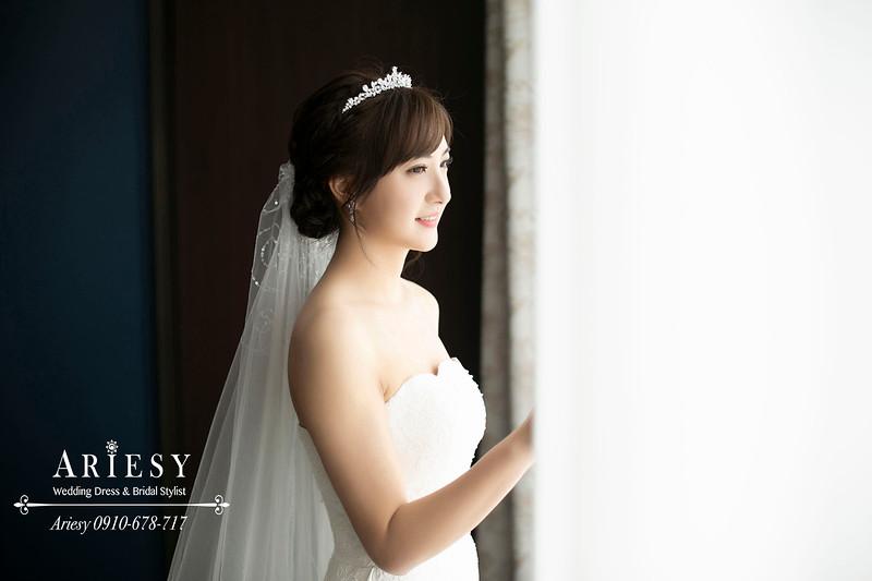 台北國賓婚宴,愛瑞思,ARIESY,台北新秘,白紗新娘造型,新娘秘書