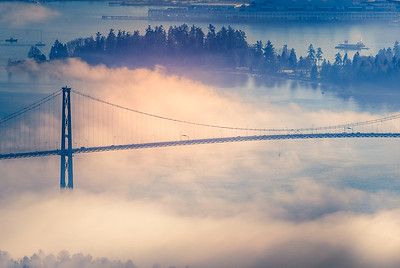 LIons Gate Bridge-Stanley Park
