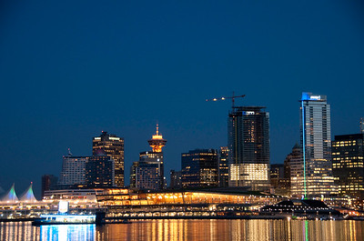Night Lights of Vancouver ( Landscape)
