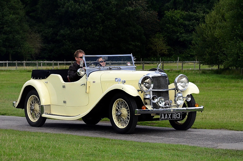 AAX 183 SILVER EAGLE SC CROSS & ELLEIS TOURER 1936