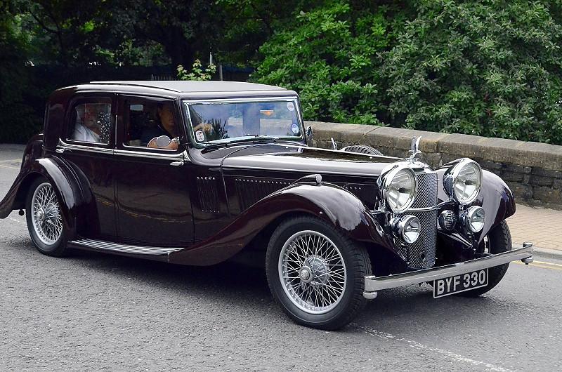 BYF 330 SPEED 20 SC MAYFAIR CAR 17442 1935
