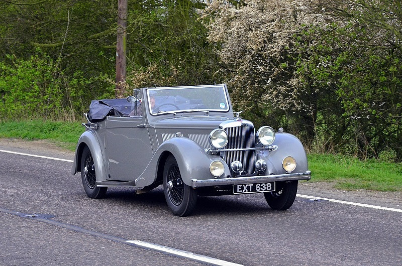 EXT 638 ALVIS 12-70 1938