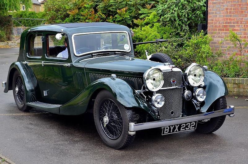 BYX 232 ALVIS 1935