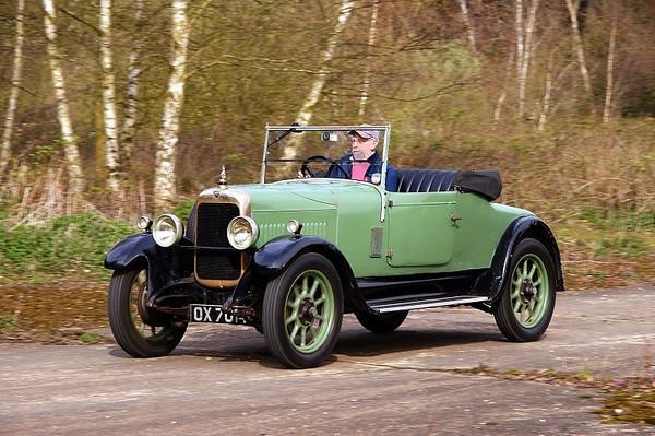 OX 7014 ALVIS 12-50 1928