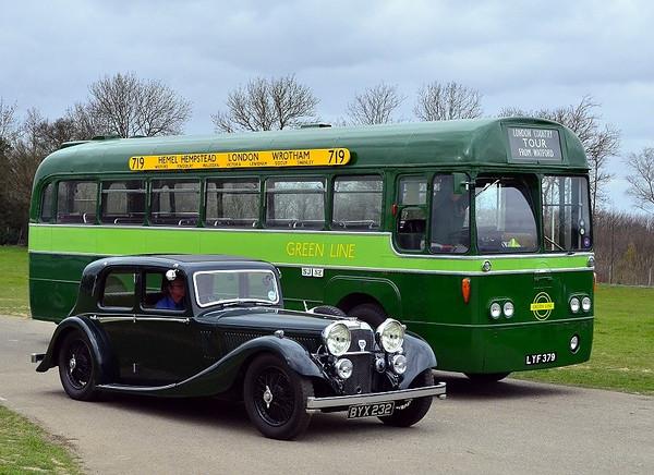 BYX 232 ALVIS SPEED 20 1935