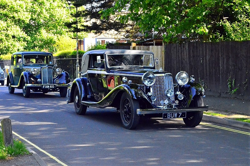 FXM 60 ARMSTRONG SIDDELY 16HP 1939 & BUW 7 5L COUPE 1935
