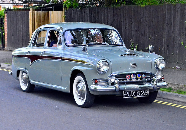 PUX 528 AUSTIN A95 WESTMINSTER 1958