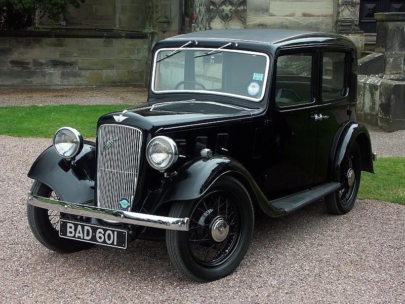 BAD 601 AUSTIN 10 1936