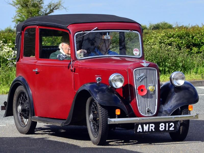 AWR 812 AUSTIN SEVEN PEARL CABRIOLET 1935