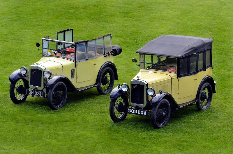 GH 8311 AE TOURER 1930 & 588 UXW