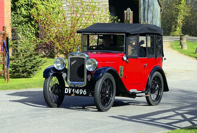 DV 9496 SEVEN TOURER 1931