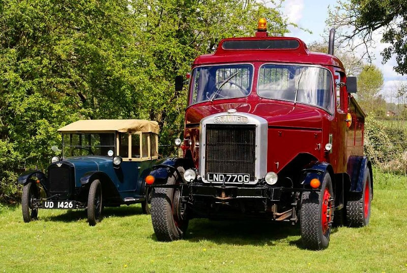 UD 1426 AUSTIN SEVEN & SCAMMELL
