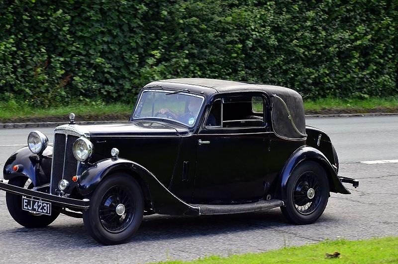 EJ 4231 DAIMLER 15 DROPHEAD COUPE 1935