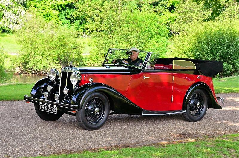 YS 6252 DAIMLER 15 1936