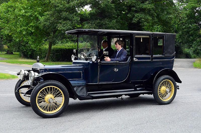 DL 843 DAIMLER TE30 CRANMORE LANDAULET 1913