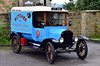 FORD MODEL T : The Ford Model T (colloquially known as the Tin Lizzie, T‑Model Ford, 'Model T Ford', or T) is an automobile that was produced by Henry Ford's Ford Motor Company from September 1908 to October 1927. It is generally regarded as the first affordable automobile, the car that opened travel to the common middle-class American; some of this was because of Ford's innovations, including assembly line production instead of individual hand crafting. The Ford Model T was named the world's most influential car of the 20th century in an international poll.