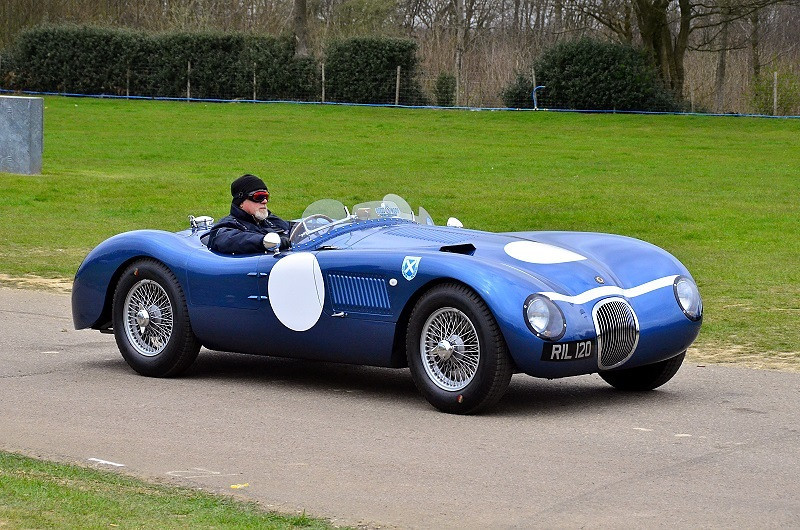 RIL 120 REALM JAGUAR C-TYPE REPLICA 1985