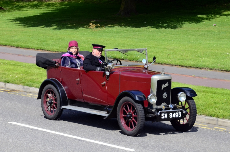 SV 8493 JOWETT SEVEN LONG FOUR TOURER 1929