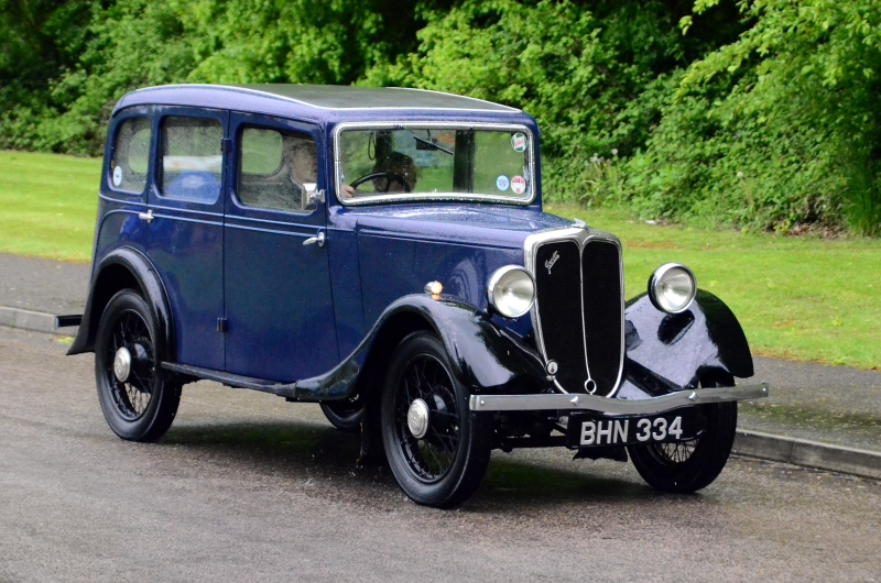 BHN 334 JOWETT 1935