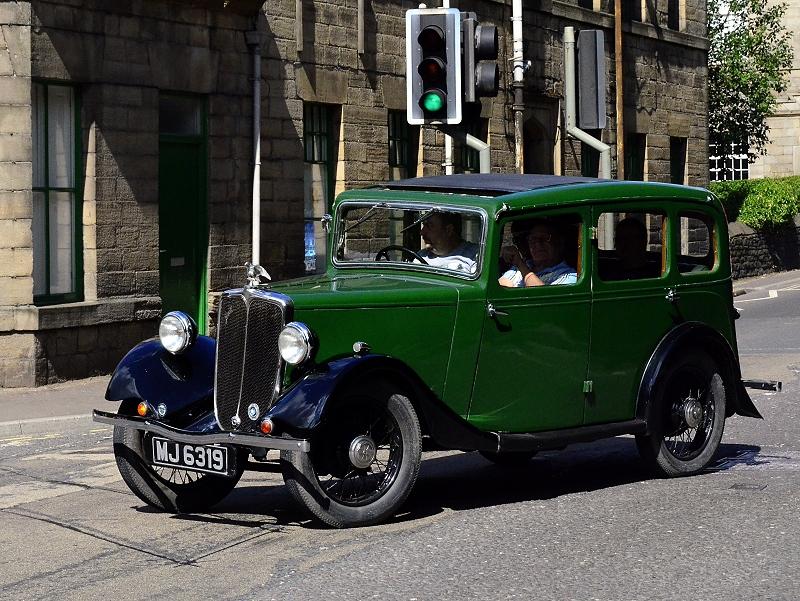 MJ 6319 JOWETT CURLEW 1935