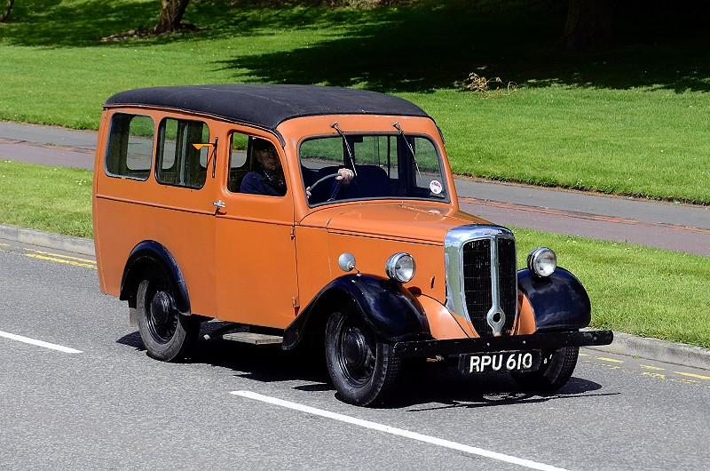 RPU 610 JOWETT VAN-ESTATE