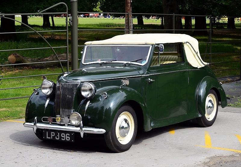 LPJ 96 LANCHESTER ABBOTT DROHEAD COUPE 1947
