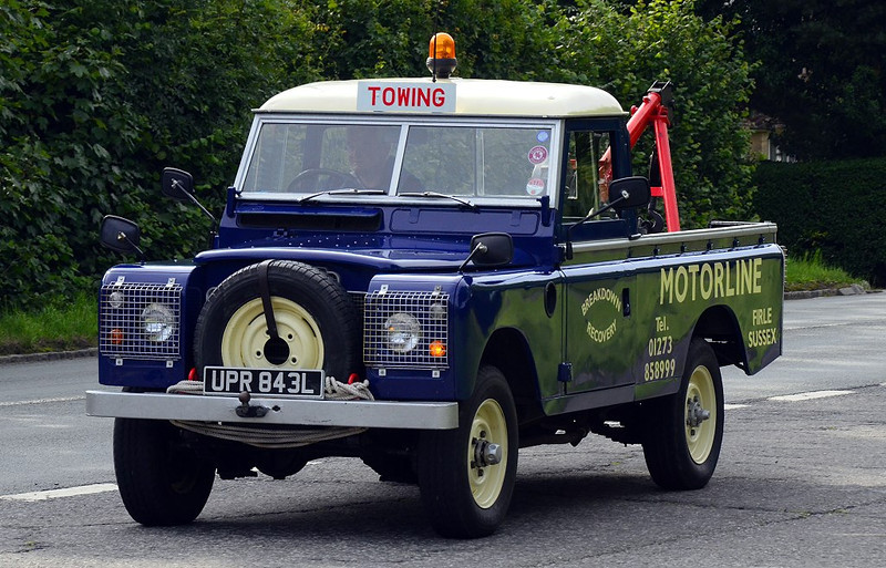 UPR 843L LAND ROVER RECOVERY