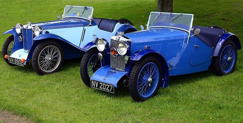 VH 8902 MG J1 1934 & NV 2027 MG J2 1932